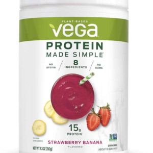 Strawberry banana protein